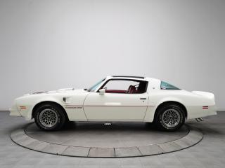обои Hurst Pontiac Firebird Trans Am T-A 6.6 W72 T-Top 1977 сбоку фото