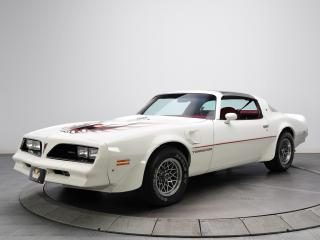 обои Hurst Pontiac Firebird Trans Am T-A 6.6 W72 T-Top 1977 спереди фото