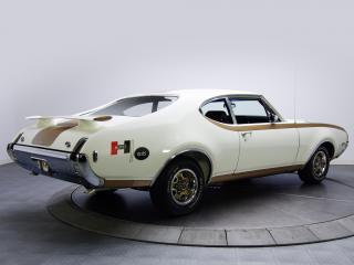 обои для рабочего стола: Hurst-Olds 442 Holiday Coupe (4487) 1969 задок
