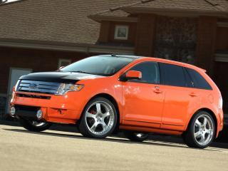 обои H&R Ford Edge 2007 бок фото
