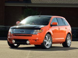 обои H&R Ford Edge 2007 перед фото