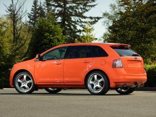 обои H&R Ford Edge 2007 сбоку фото