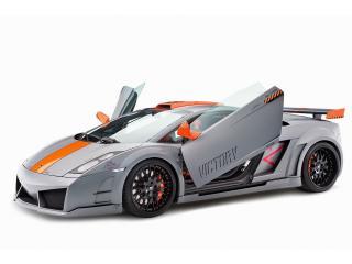 обои H&R Hamann Lamborghini Gallardo Victory 2010 двери фото