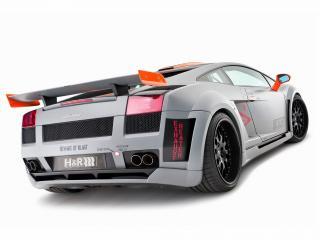 обои H&R Hamann Lamborghini Gallardo Victory 2010 зад фото