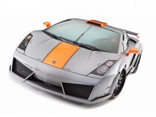 обои H&R Hamann Lamborghini Gallardo Victory 2010 капот фото