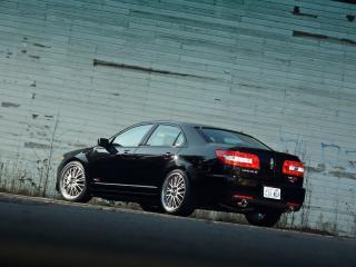 обои H&R Lincoln MKZ 2007 бок фото
