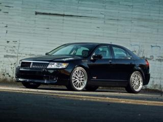 обои H&R Lincoln MKZ 2007 мощь фото