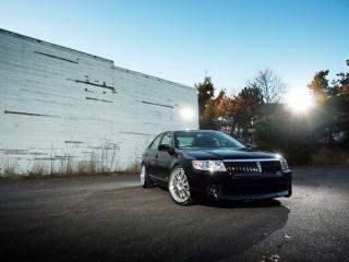 обои H&R Lincoln MKZ 2007 сила фото