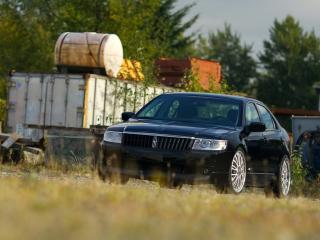 обои H&R Lincoln MKZ 2007 фары фото