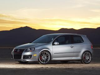 обои H&R Volkswagen GTI Project (Typ 1K) 2007 бок фото