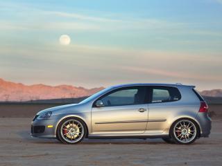 обои H&R Volkswagen GTI Project (Typ 1K) 2007 сбоку фото