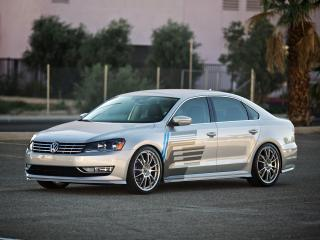 обои H&R Volkswagen Passat US-spec (B7) 2011 перед фото