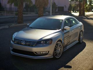 обои H&R Volkswagen Passat US-spec (B7) 2011 спереди фото