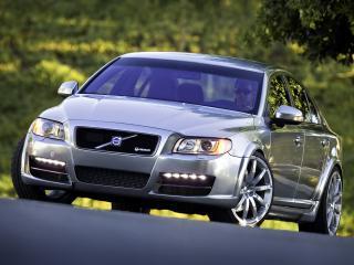 обои Volvo S80 Heico Concept 2007 фары фото