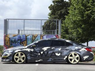 обои KBR Motorsport Volkswagen Passat CC 2012 бок фото
