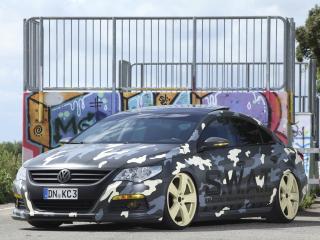 обои KBR Motorsport Volkswagen Passat CC 2012 перед фото