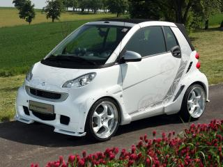 обои Koenigseder Smart ForTwo 2008 белая фото