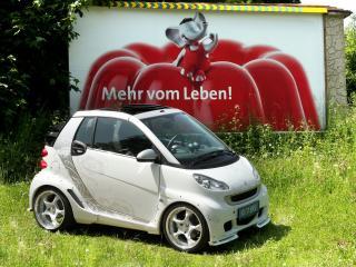 обои Koenigseder Smart ForTwo 2008 боком фото