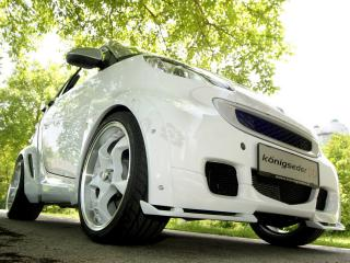 обои Koenigseder Smart ForTwo 2008 низ фото