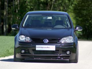 обои Koenigseder Volkswagen Golf (Typ 1K) перед фото