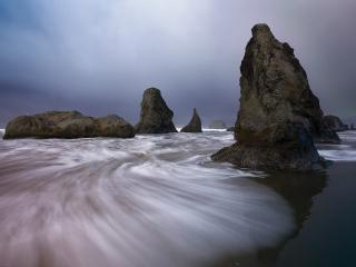 обои Face Rock State Park, Bandon, Oregon фото