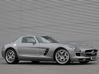 обои MKB P 640 Mercedes-Benz SLS 63 AMG (C197) 2011 бок фото