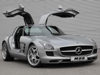 обои MKB P 640 Mercedes-Benz SLS 63 AMG (C197) 2011 перед фото