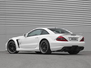 обои MKB P 1000 Mercedes-Benz SL 65 AMG Black Series 2010 бок фото
