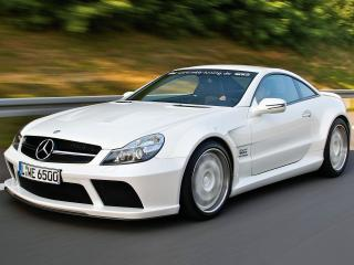 обои MKB P 1000 Mercedes-Benz SL 65 AMG Black Series 2010 скорость фото