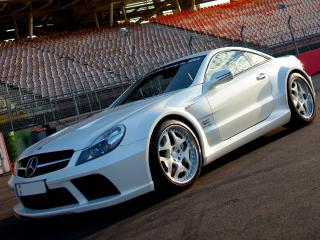 обои MKB P 1000 Mercedes-Benz SL 65 AMG Black Series 2010 фара фото