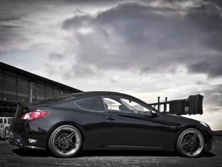 обои Schmidt Revolution Hyundai Genesis Coupe 2012 сбоку фото