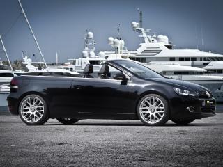 обои Schmidt Revolution Volkswagen Golf Сabrio (Typ 5K) 2012 бок фото