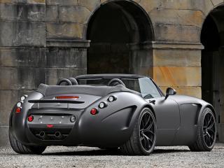 обои SchwabenFolia Wiesmann MF5 Roadster Black Bat 2011 черный фото