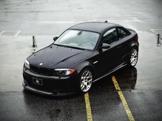 обои для рабочего стола: SR Auto BMW 1 Series M Coupe Project Kaiser (E82) 2011 черный