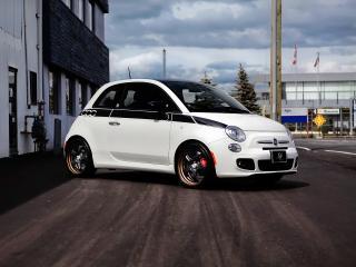 обои SR Auto Fiat 500 Prima Edizione Project Denso 2012 белая фото