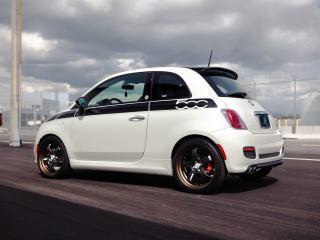обои SR Auto Fiat 500 Prima Edizione Project Denso 2012 бок фото