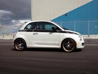 обои SR Auto Fiat 500 Prima Edizione Project Denso 2012 сбоку фото