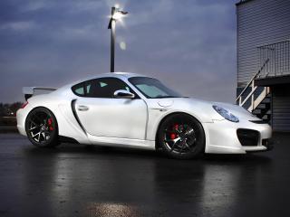 обои SR Auto Porsche Cayman Project Hermera (987C) 2011 бок фото