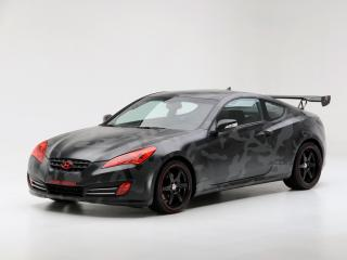 обои Genesis Coupe by Street Concepts 2008 сбоку фото