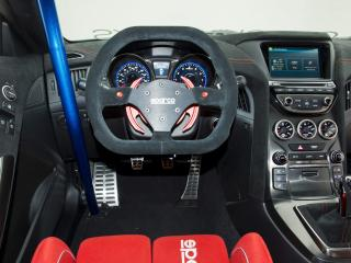 обои ARK Performance Genesis Coupe R-Spec Track Edition 2012 внутри фото