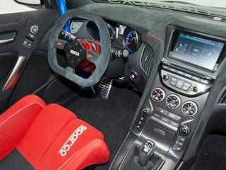 обои ARK Performance Genesis Coupe R-Spec Track Edition 2012 руль фото