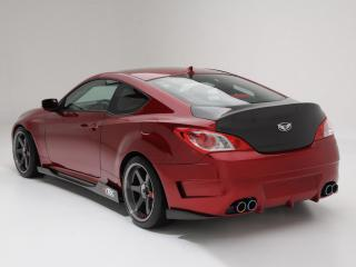 обои ARK Performance Hyundai Genesis Coupe 2010 мощь фото