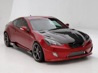 обои ARK Performance Hyundai Genesis Coupe 2010 перед фото