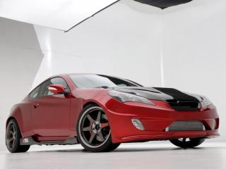 обои ARK Performance Hyundai Genesis Coupe 2010 сбоку фото