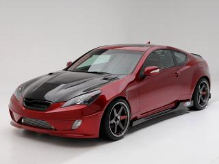 обои ARK Performance Hyundai Genesis Coupe 2010 сильный фото