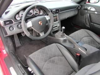 обои Cars & Art Porsche 911 Carrera 4S Coupe Roter Baron (997) 2012 салон фото