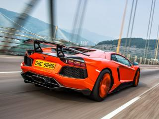 обои DMC Lamborghini Aventador LP900-4 Molto Veloce (LB834) 2012 скорость фото