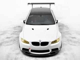 обои EAS BMW M3 Coupe VF620 Supercharged (E92) 2012 капот фото