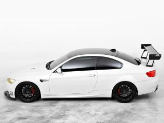обои EAS BMW M3 Coupe VF620 Supercharged (E92) 2012 сбоку фото