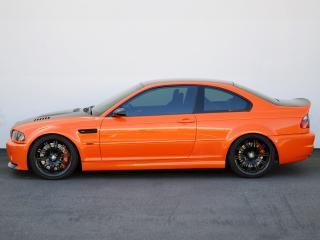 обои EAS BMW M3 Coupe VF650 (E46) 2012 сбоку фото